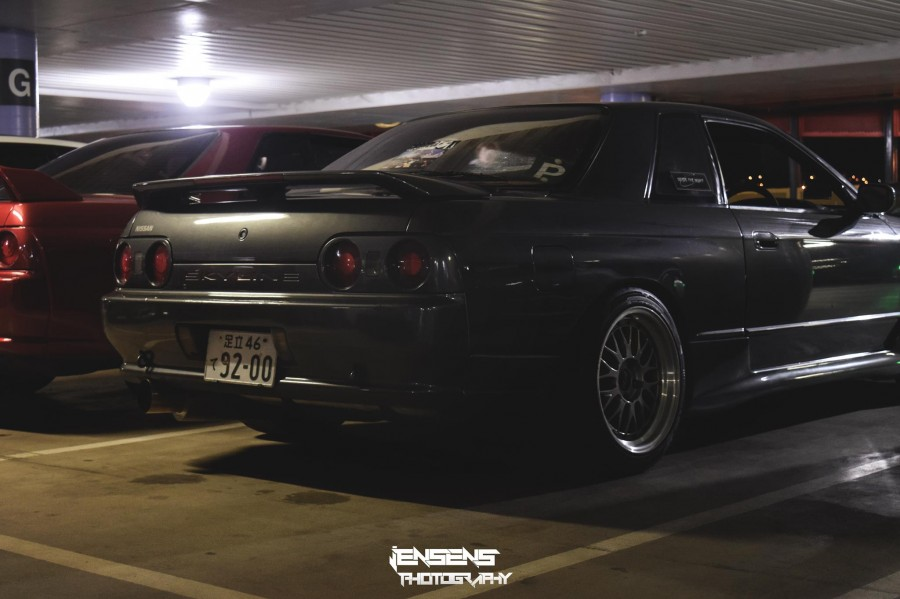 Nissan Skyline R32 wheels BBS LM 17″ 9.5J ET25 245/40 coupe