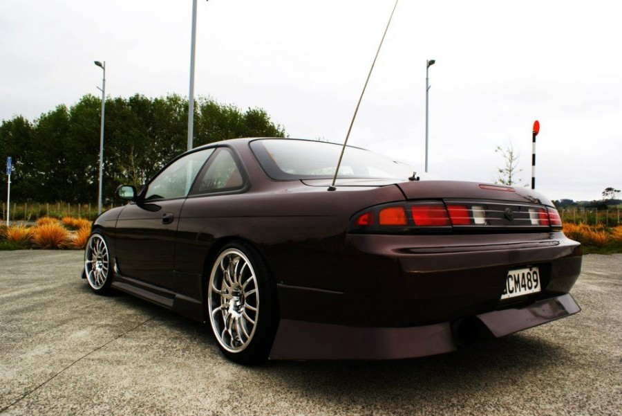 Nissan Silvia S14 wheels .COM Racing Chrome 18″ 9J ET15 225/40