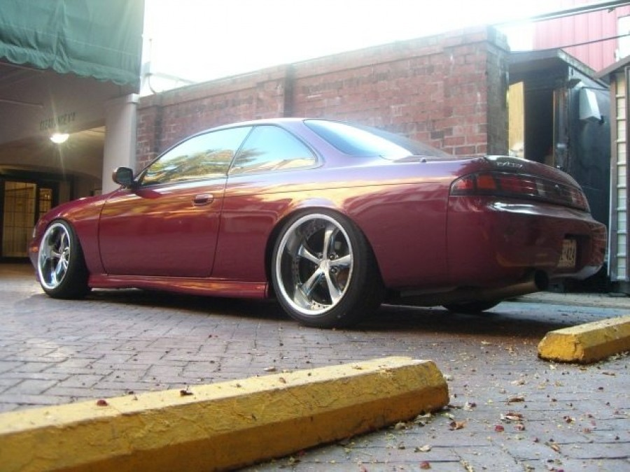 Nissan Silvia S14 wheels Work VS-KF 18″ 9.5J ET7 225/40 10J 235/40 AzNCmB
