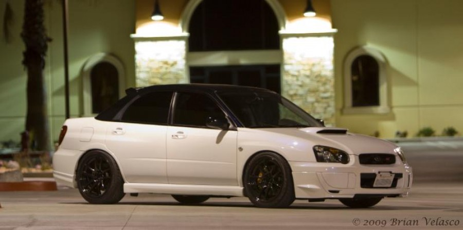 Subaru Impreza GD, GG wheels Work Emotion CR KAI 18″ 9.5J ET35 245/40 ET29 WRX