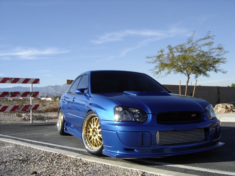 Subaru Impreza GD, GG wheels Work VS-XX 18″ 10J ET38 255/35 WRX STI