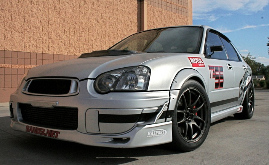 Subaru Impreza GD, GG wheels Work Emotion CR KAI 17″ 9J ET44 255/40 WRX Wagon