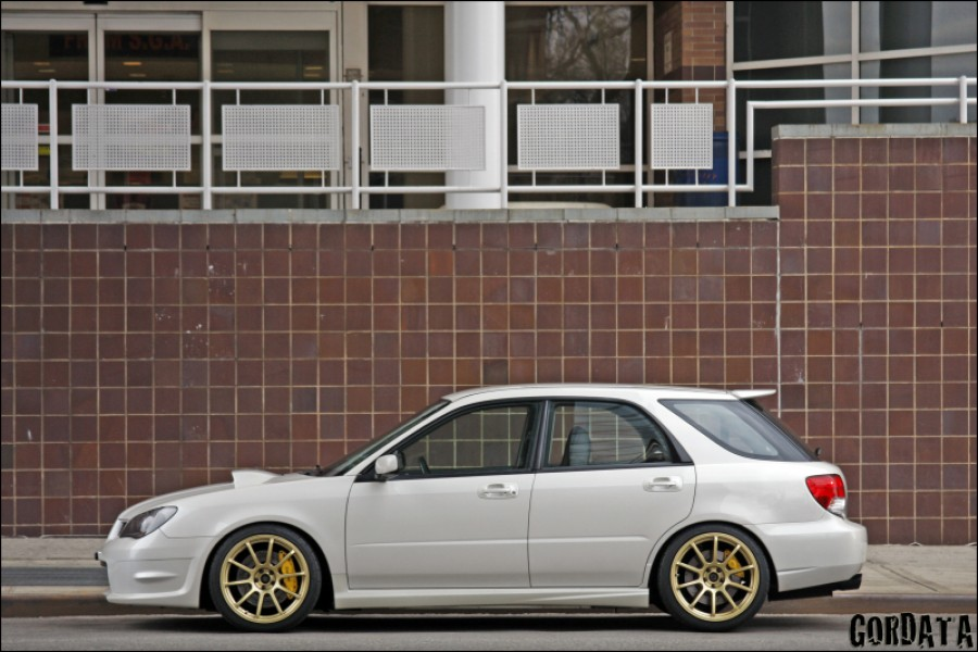 Subaru Impreza wheels Rota G-force 18″ 9J ET35 225/40 WRX Wagon