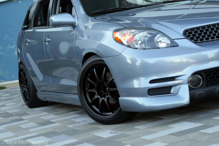 Toyota Matrix E130 wheels Rota DPT 18″ 9J ET20 225/40 10J 245/40