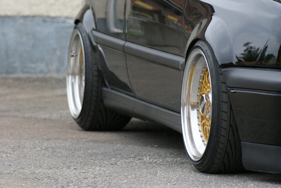Volkswagen Golf MK3 wheels BBS RS 16″ 8J ET11 195/40 10J 215/40