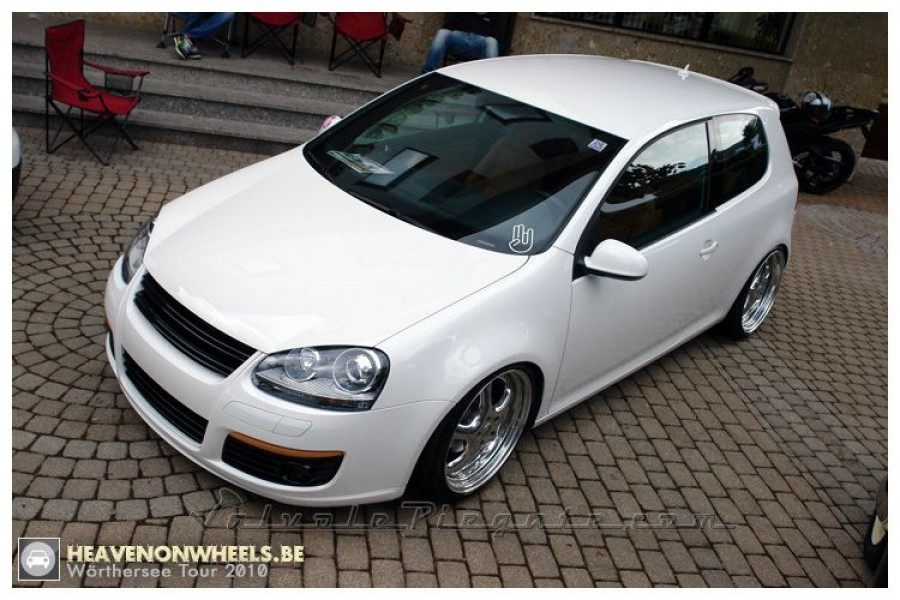 Volkswagen Golf MK5 wheels RH Turbo P 19″ 8.5J ET52 225/35 9.5J
