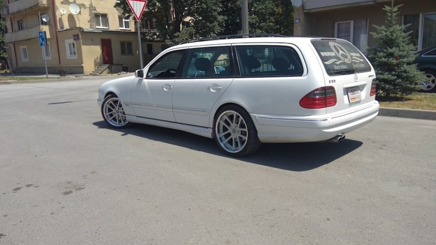 Mercedes-Benz E-Class W210 wheels Weds Sport Kranze LXZ 19