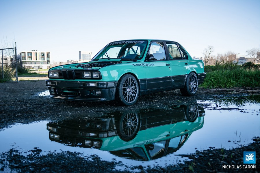 BMW 3 series E30 wheels Rotiform RSE 17″ 8J 205/40 9J 215/45