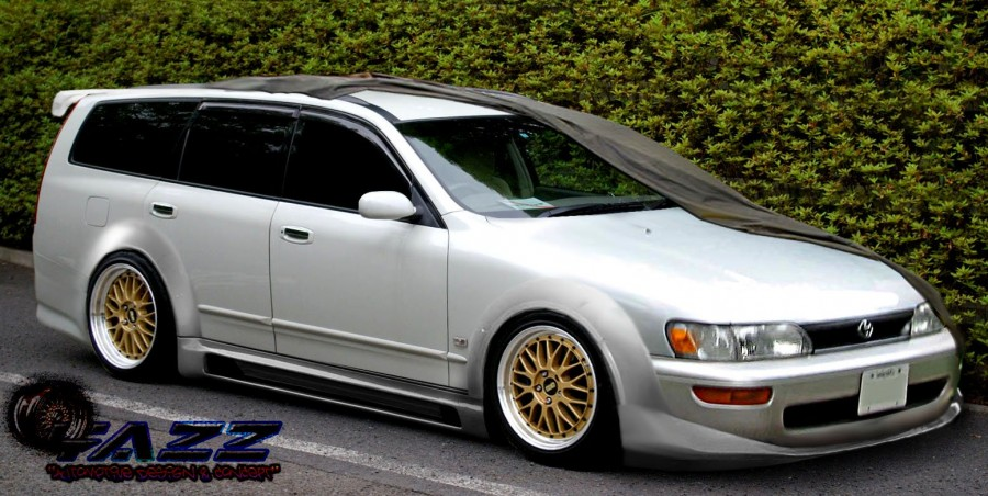Nissan Stagea WC34 Series 2 wheels BBS LM 17″