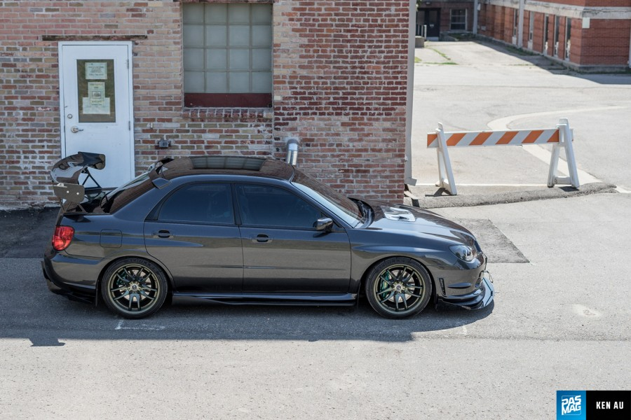 Subaru Impreza GD, GG wheels Work Emotion CR2P 18″ 9.5J ET38 255/35 WRX STI