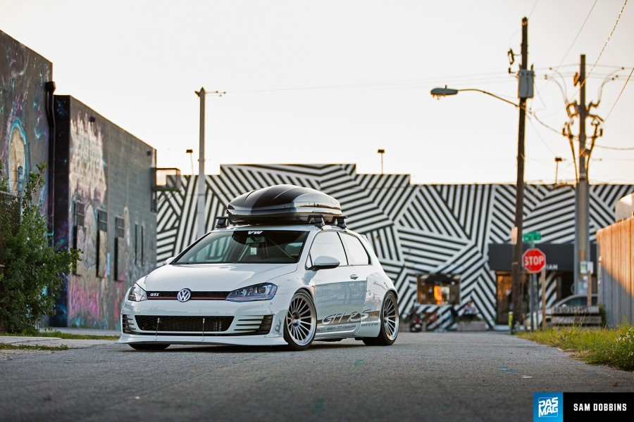 Volkswagen Golf MK7 wheels Vossen Forged LC-106 19″ 11J ET20 285/30 ET-10 GTI