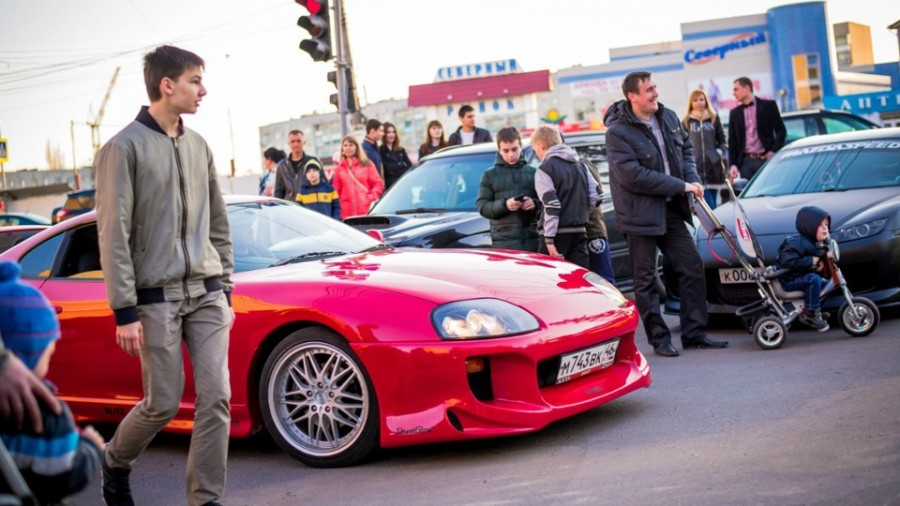 Toyota Supra A80 wheels OZ Racing 2jz-gte Ghost