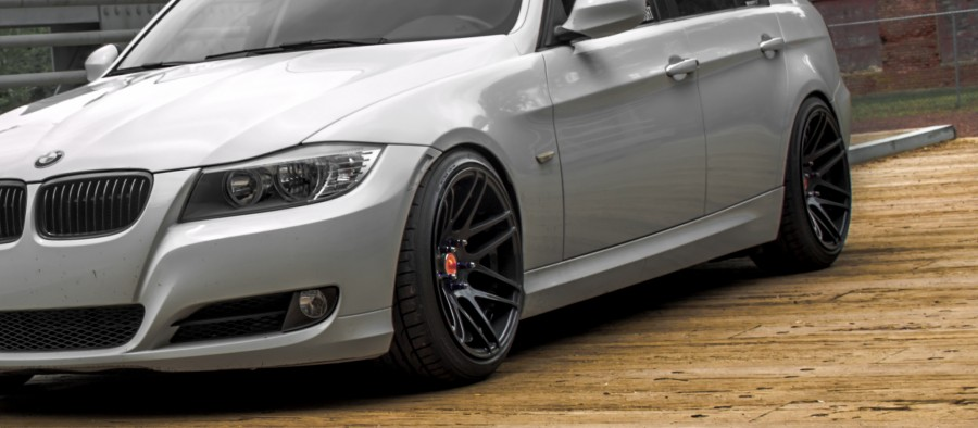 BMW 3 series E90 Sedan wheels Forgestar F14 18″ 9.5J ET21 235/40