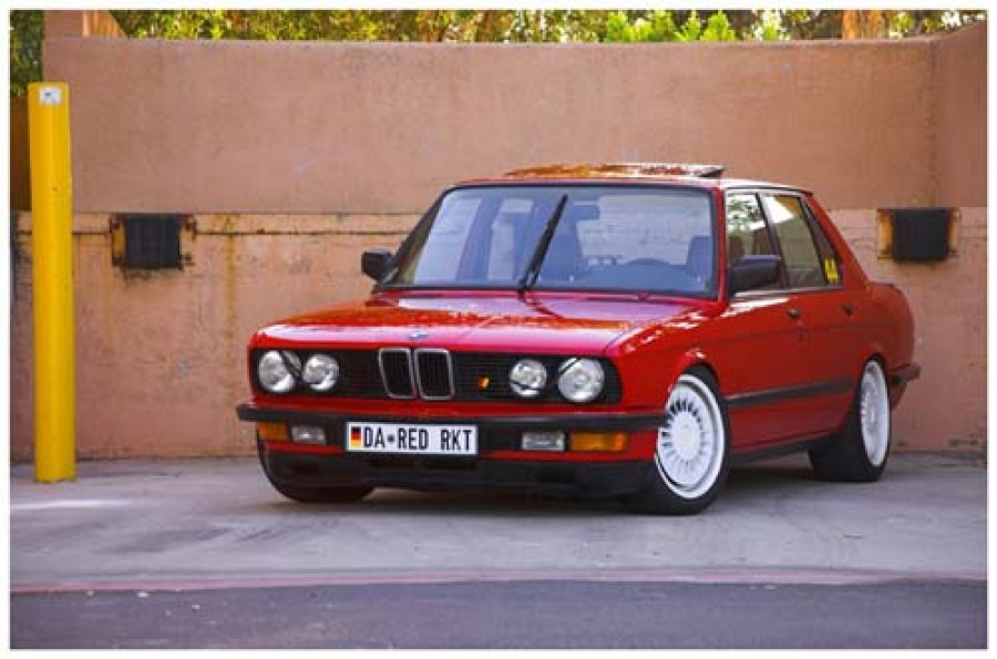 BMW 5 series E28 wheels BMW M System 17″ 8J ET10 225/45 9J ET26 235/45