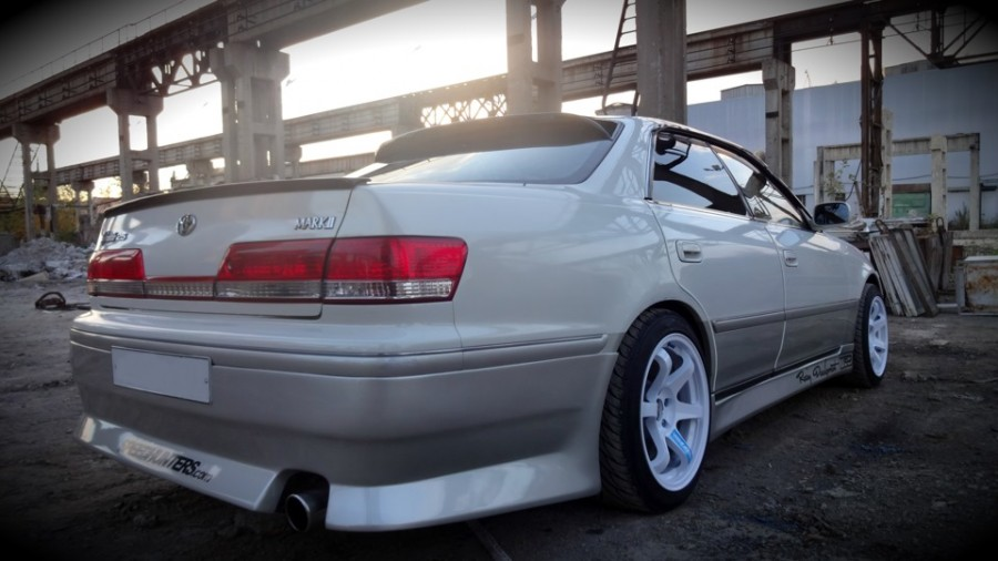 Toyota Mark II 100 wheels Rays Volk Racing TE37
