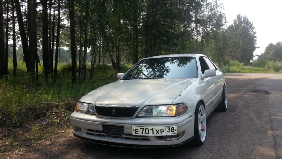 Toyota Mark II 100 wheels Rays Volk Racing TE37SL Vujic