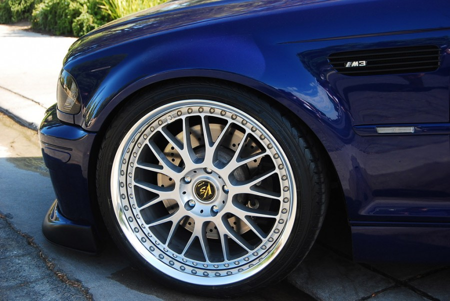 BMW 3 series E46 wheels Work VS-XX 19″ 9.5J ET45 245/35 11J ET23 275/30