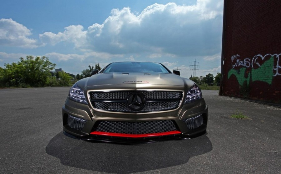 Mercedes-Benz CLS-Class W219 wheels Vossen cvt