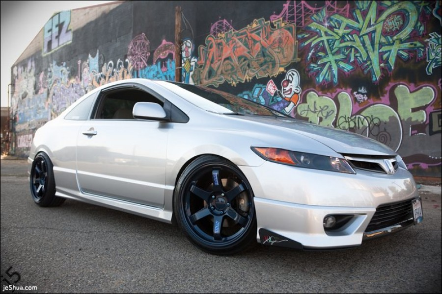 Honda Civic FA/FG/FK/FN/FD wheels Rays Volk Racing TE37 18″ 9.5J ET22 225/40