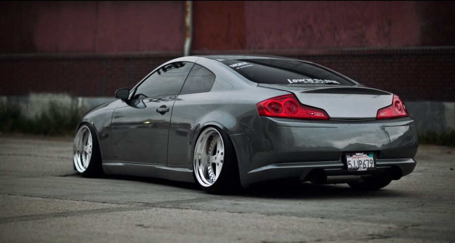 Infiniti G35 Coupe V35 wheels Work Equip 05