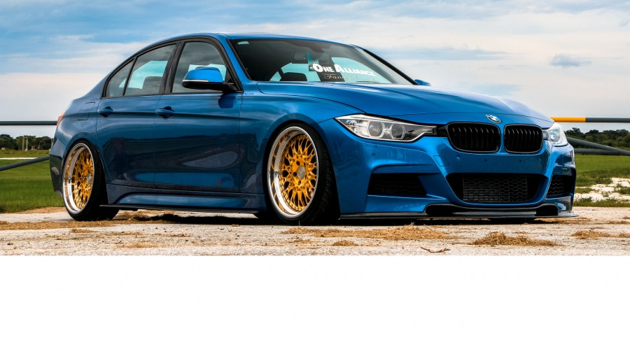 BMW 3 series F30 wheels VIP Modular VX110