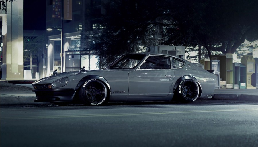 Datsun 280Z wheels Rotiform RB1 15″ 10J