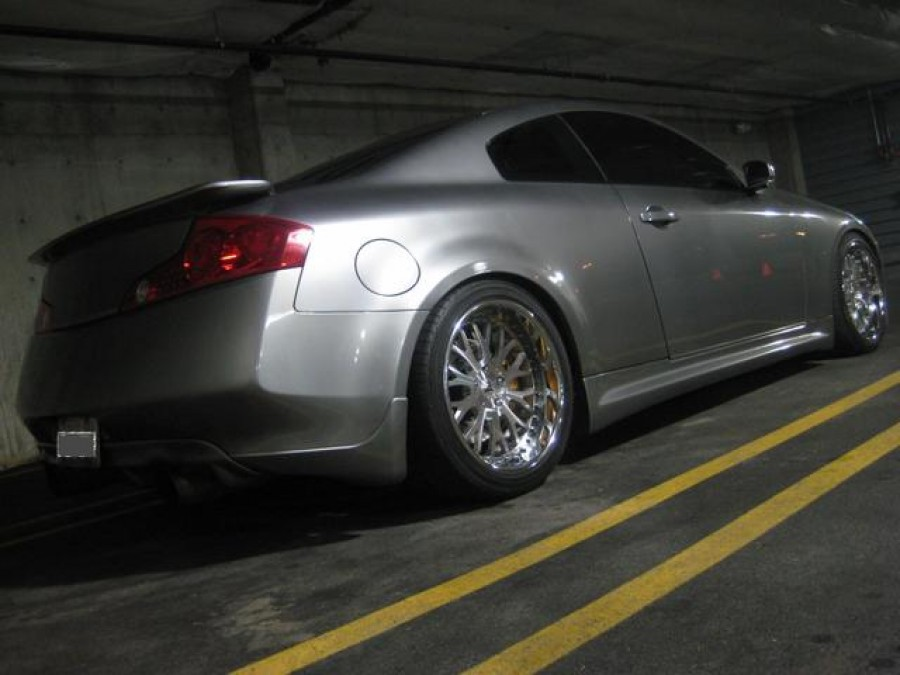 Infiniti G35 Coupe wheels DPE Aristo 19″ 9J ET18 255/35 10J ET22 275/35