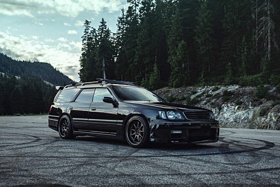 Nissan Stagea wheels Work Emotion XD9 18″ 10J ET18 265/35