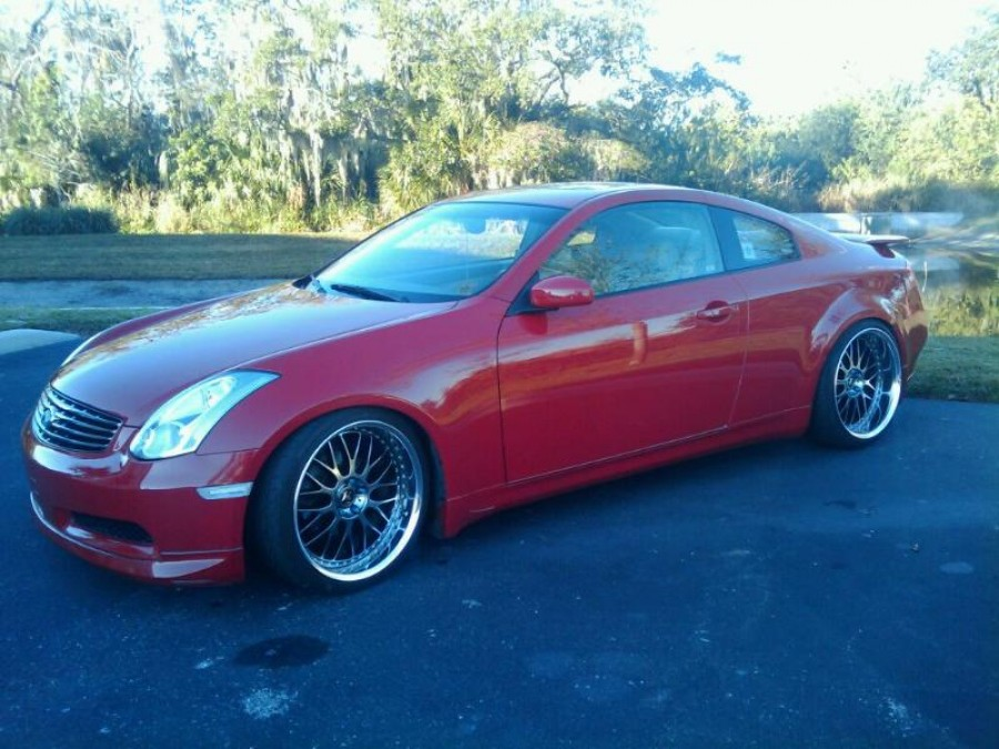 Infiniti G35 Coupe wheels Work VS-XX 20″ 9.5J ET13 245/35 11J ET6 275/30