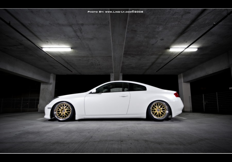 Infiniti G35 Coupe V35 wheels SSR Professor MS1 19″ 9.5J ET25 245/35 10.5J ET18 275/35