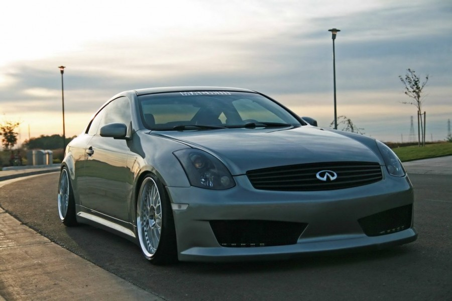 Infiniti G35 Coupe V35 wheels Work VS-XX 19″ 9.5J ET28 235/35 10.5J ET29 255/35