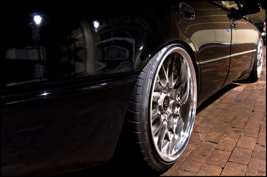 Lexus GS S140 wheels Work VS-MX 19″ 9.5J ET33 235/35 10.5J ET32 245/35