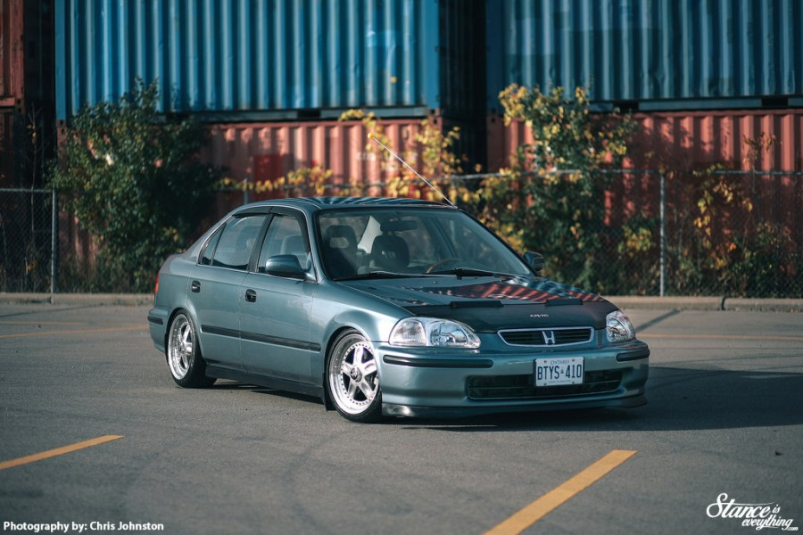 Honda Civic EJ/EK/EM wheels Rays Volk Racing CV Pro 16″ 7.5J 8J