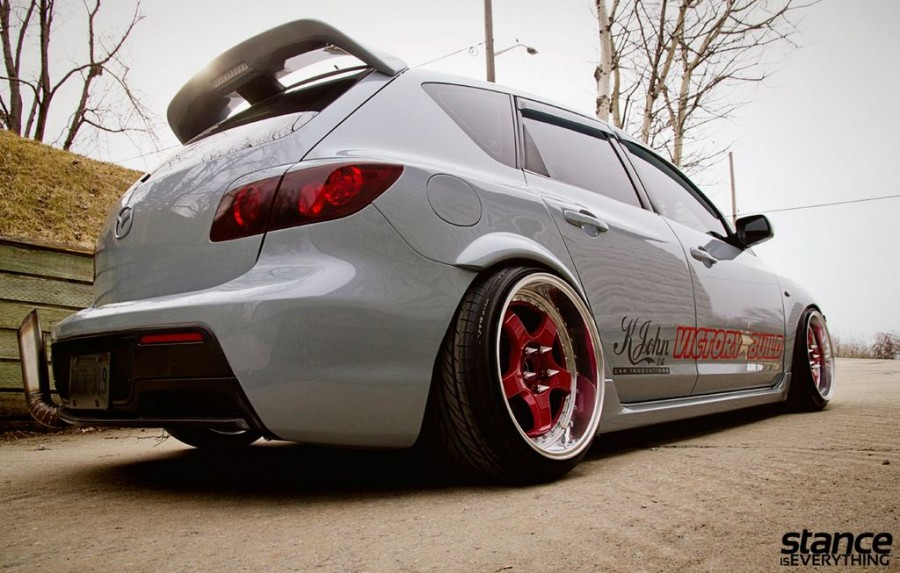 Mazda 3 1 generation wheels Konig Wheels SSM 18″ 10J ET15
