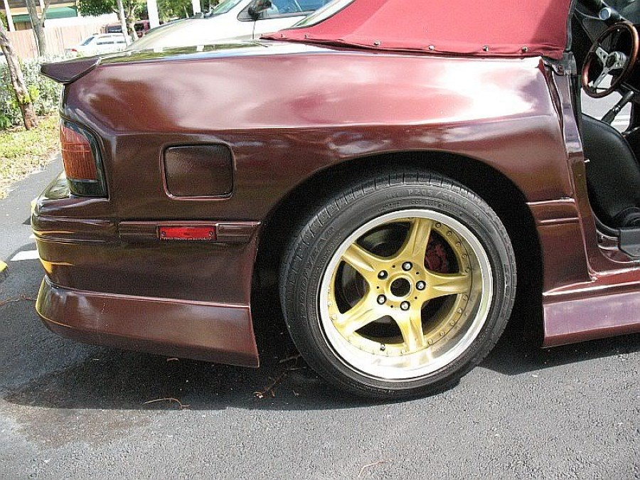 Mazda RX-7 FC wheels precedeo demon camber 16″ 8J ET15 205/50