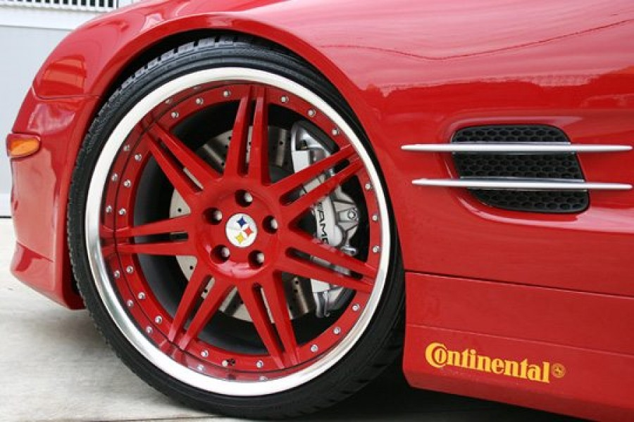 Mercedes-Benz SL-class wheels Hyper Forged HF102R 20″ 9J ET17 255/30 11J ET35 305/25