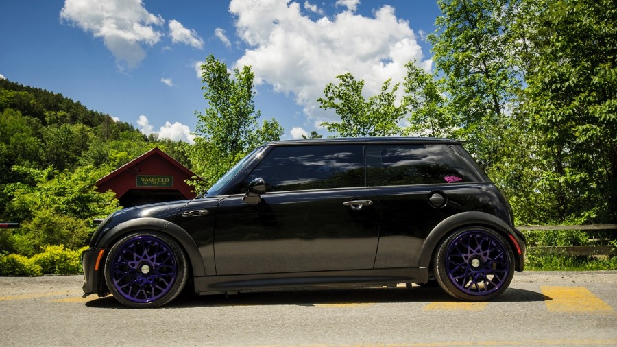 Mini Cooper S wheels Rotiform BLQ 17″ 8J ET30 205/40
