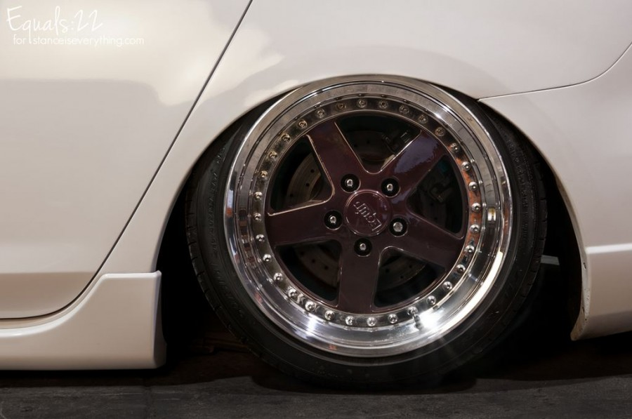 Mazda 3 1 generation wheels Work Equip 05 17″ 8J 9J