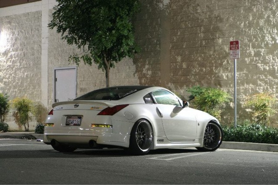 Nissan 350Z wheels Work VS-XX 19″ 9.5J ET17 255/35 11J ET10 275/35