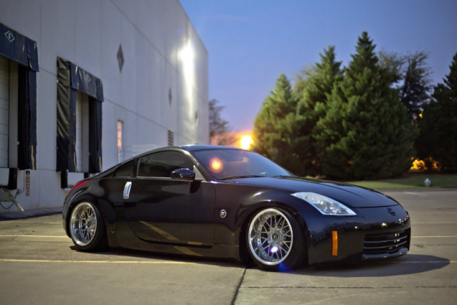 Nissan 350Z wheels Work VS-MX 18″ 10J 225/40 11J 245/40