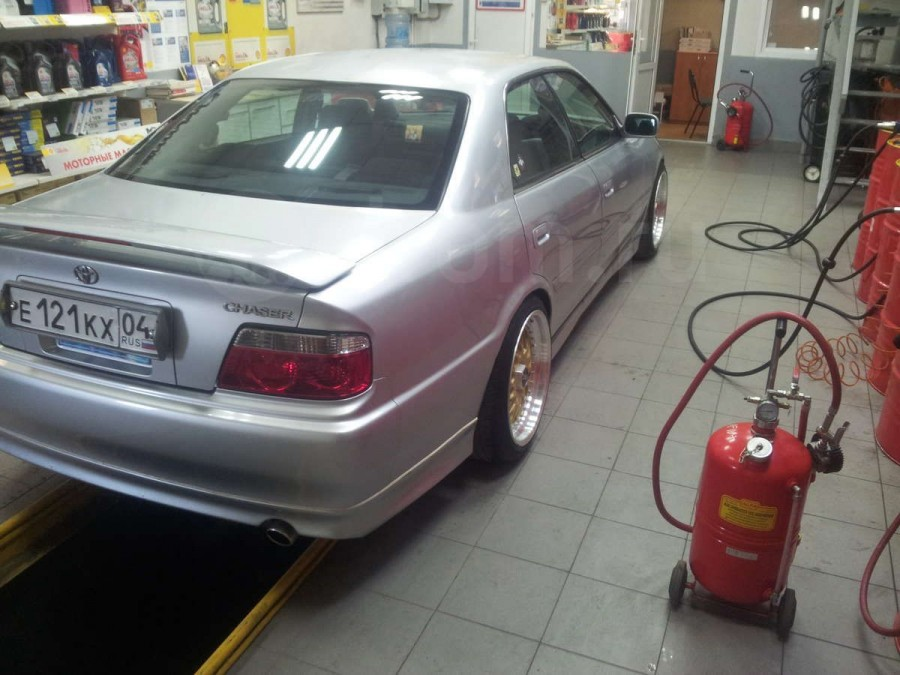 Toyota Chaser 100 wheels Work Ewing 1 18″ 9.5J